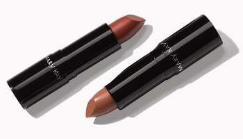 Two nude matte lipsticks from the Mary Kay Fall Winter Trend Confidently Hue.
